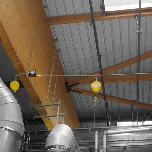 Horizontales Seilsicherungssystem ALTILIGNE bei VERTIC