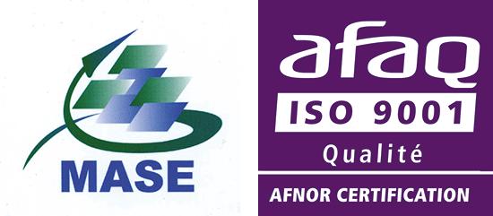 VERTIC zertifiziert ISO 9001 und MASE für 3 Jahre wieder