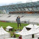 Stade Bollaert Lens - horizontales Seilsicherungssystem BATILIGNE und ALTILISSE VERTIC Geländer