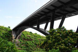 La Ravine Fontaine Brücke : Combiligne VERTIC
