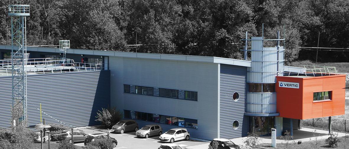 VERTIC Firmensitz in Bernin - Spezialist für Sicherheit in der Höhe